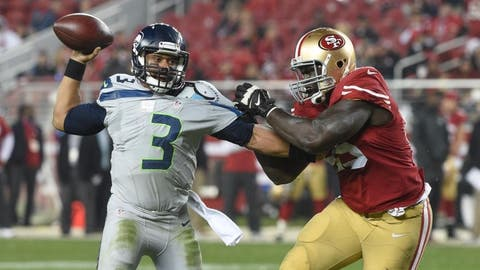 Sunday: 49ers at Seahawks