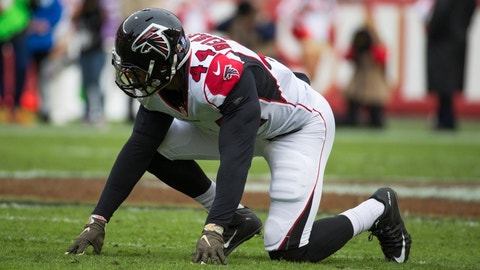 The Falcons have the worst pass rush in the NFL