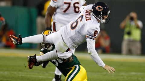 Four interceptions in Bears debut
