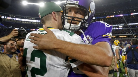 Sam Bradford is better than Aaron Rodgers