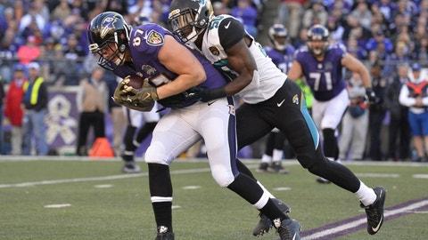 September 24: Baltimore Ravens at Jacksonville Jaguars (London), 9:30 a.m. ET
