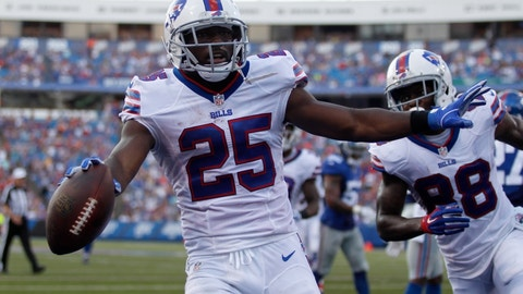 Bills: Lean on the running game