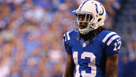 T.Y. Hilton, WR, Colts (knee): Questionable