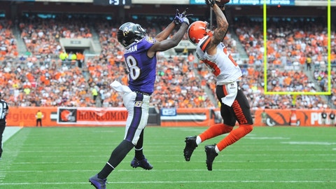 Joe Haden, CB, Browns (groin): Out