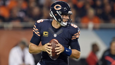Jay Cutler, QB, Bears (thumb): Doubtful