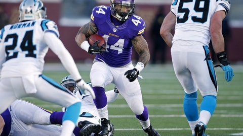 December 10: Minnesota Vikings at Carolina Panthers, 1 p.m. ET