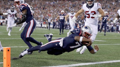 Jacoby Brissett, Patriots