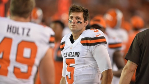 Cody Kessler, Browns