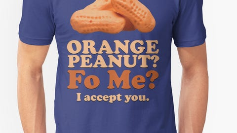 Orange Peanut, I accept you