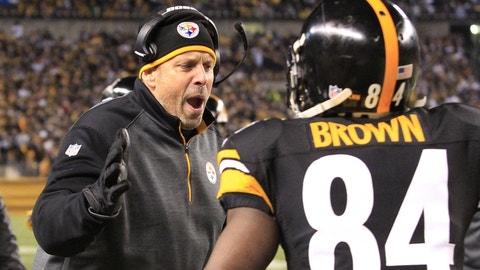 Sunday night: Chiefs at Steelers