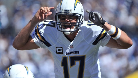 Philip Rivers believes the refs got it wrong