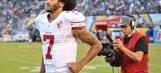 49ers Quarterback Colin Kaepernick Joins Oakland High School Protest