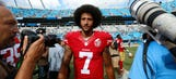 Colin Kaepernick joins Oakland high school football team in protest