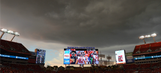 Lightning delays Bucs' comeback attempt against the Rams
