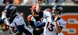 Siemian's 4 TD passes lead Broncos over Bengals 29-17