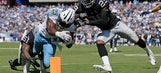 Oakland D forces 3 turnovers as Raiders beat Titans 17-10