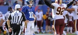 Hopkins' 5th field goal gives Redskins 29-27 win over Giants
