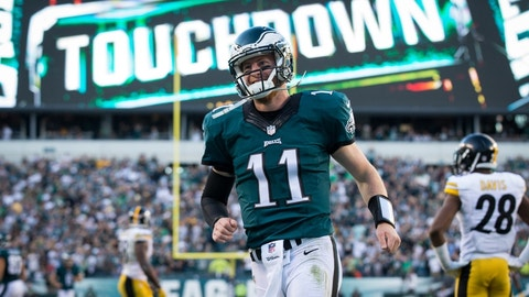 Monday night: Packers at Eagles