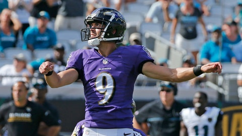 Justin Tucker knows Joe Flacco is elite