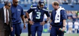 Seahawks' Russell Wilson believed to have sprained MCL