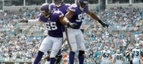 Vikings make case as NFL's best defense after crushing Cam Newton, Panthers