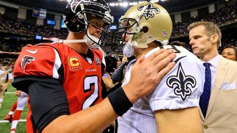 Saints at Falcons: 1 p.m., Jan. 1 (FOX)
