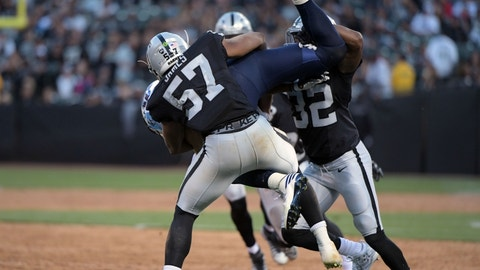 Rising: Oakland Raiders LB Cory James