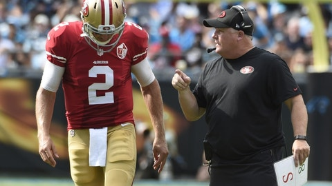 San Francisco 49ers (1-6 W-L record): 1 cover against the spread