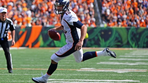 Trevor Siemian is the Broncos' long-term answer at quarterback