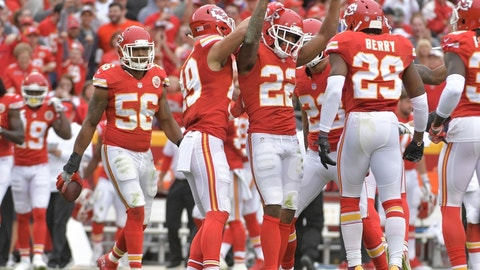 Kansas City Chiefs (last week: 15)