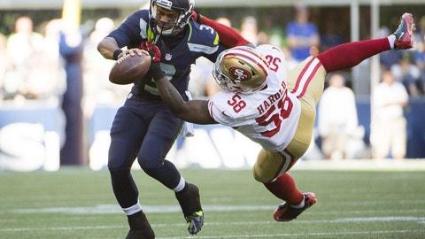 Russell Wilson, QB, Seahawks (knee)
