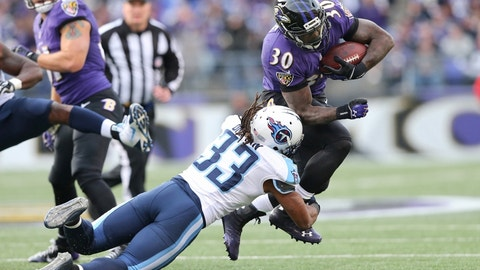 November 5: Baltimore Ravens at Tennessee Titans, 1 p.m. ET