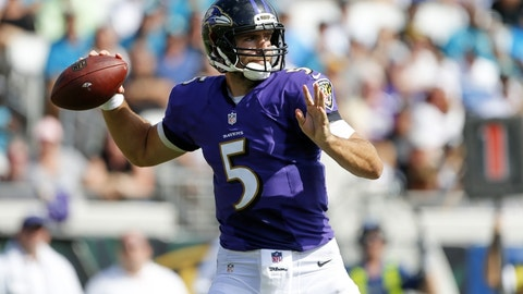 The Ravens are one of the five best teams in the NFL