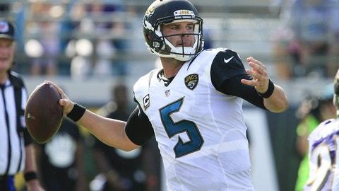 Blake Bortles, 24, Jacksonville Jaguars