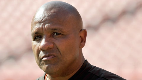 Browns coach Hue Jackson, on whether the team is tanking