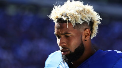 Giants coach Ben McAdoo, on Odell Beckham