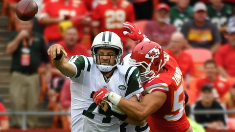 Jets coach Todd Bowles, on his team's 24-3 loss to the Chiefs