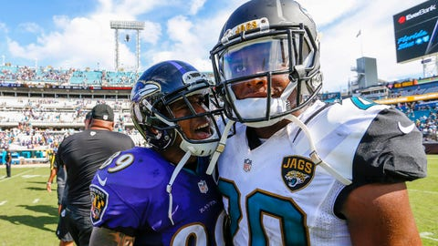 Ravens coach John Harbaugh, on Steve Smith trash-talking Jalen Ramsey