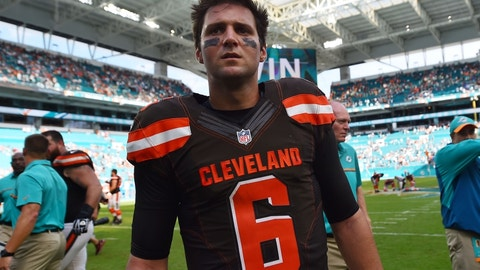 Cody Kessler, QB, Browns (ribs)