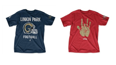 Shirts for the OneRepublic/NFL fan in every family!