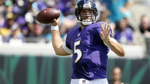 Joe Flacco, QB, Baltimore Ravens