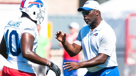 Anthony Lynn, Bills interim head coach