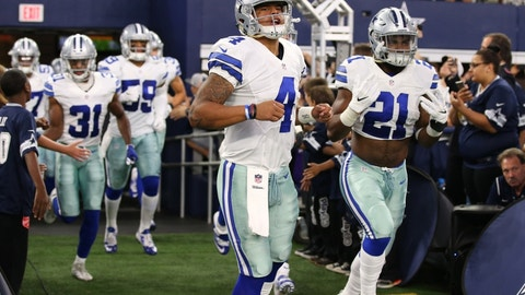 Cowboys (+2.5) over STEELERS (Over/under: 50)