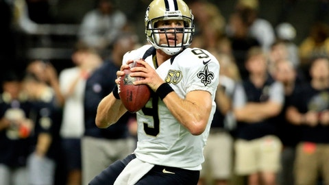Drew Brees feels good after taking down the Panthers