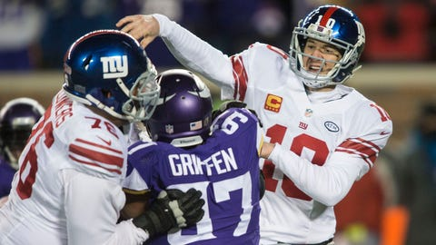 New York Giants: B-