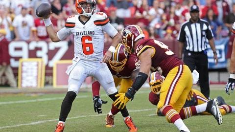 Cody Kessler, QB, Browns (NA last week)