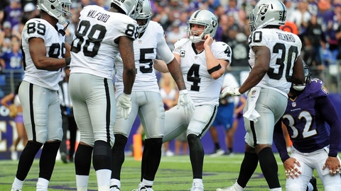 Oakland Raiders (last week: 13)