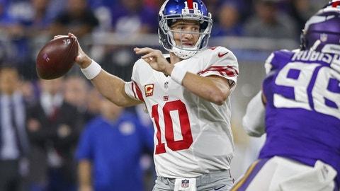 Eli Manning, 35, New York Giants