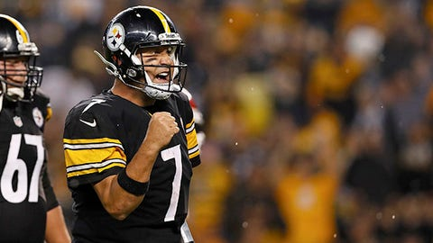 Ben Roethlisberger, 34, Pittsburgh Steelers