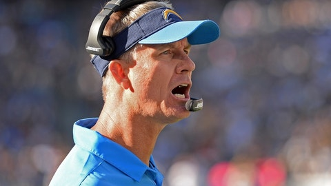 Second-degree burns: Mike McCoy, San Diego Chargers (3-5)